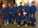 Paintball team blauw